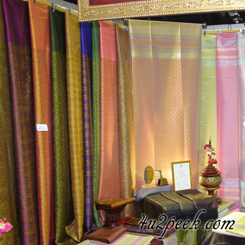 Thai Silk Shopping